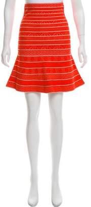 Herve Leger Telma Bandage Skirt