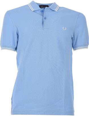 Fred Perry Light Blue Polo Shirt