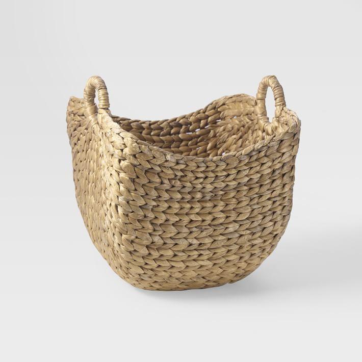west elm Curved Storage Basket