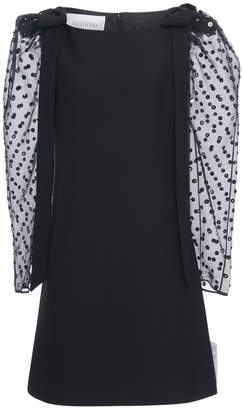 Valentino Sequin and Bead-Embellished Mini Dress
