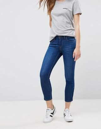 Lee Jeans Scarlett Mid Rise Slim Cropped Jeans