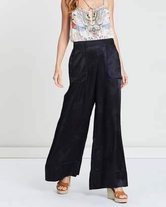 Camilla Lounge Trousers with Cuffs
