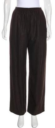eskandar Cashmere High-Rise Pants
