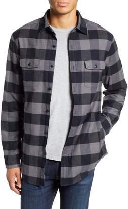 Vineyard Vines Deepwood Regular Fit Lined Flannel Shirt Jacket