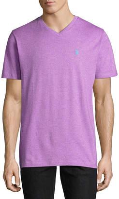 U.S. Polo Assn. USPA Embroidered Short Sleeve Jersey Polo Shirt
