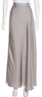 Halston A-Line Midi Skirt