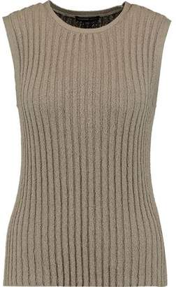 James Perse Ribbed Cotton-Blend Tank