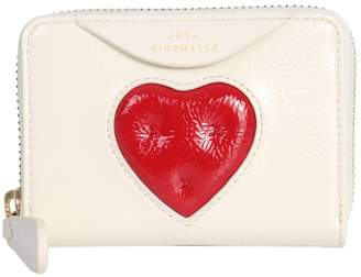 Anya Hindmarch Chubby Heart Small Zip Wallet