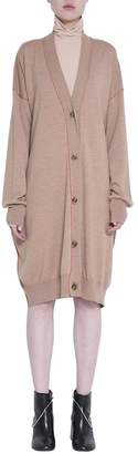 MM6 MAISON MARGIELA Camel Wool Oversized Cardigan
