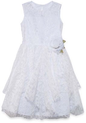 Marmellata Lace Flower Girl Dress - Girls' 7-16 and Plus $72 thestylecure.com