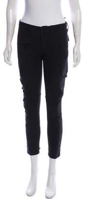 Ralph Lauren Low-Rise Skinny Cargo Pants Black Low-Rise Skinny Cargo Pants