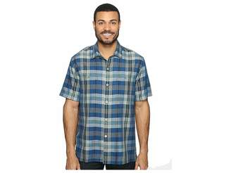 Tommy Bahama Paratay Plaid Short Sleeve Woven Shirt Men's Short Sleeve Button Up