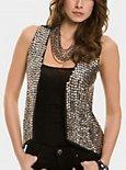 Roxy Studded Vest