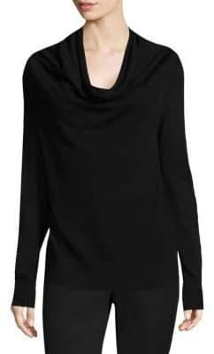 Donna Karan Merino Wool Cowlneck Sweater