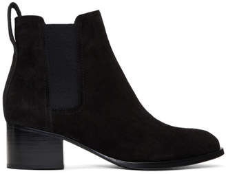 Rag & Bone Black Suede Walker Boots