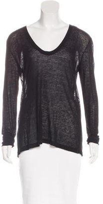 Inhabit Knit Long Sleeve Top $65 thestylecure.com