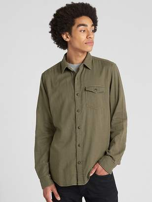 Gap Double-Face Standard Fit Shirt
