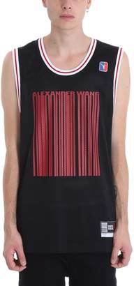 Alexander Wang Black Polyester Tank Top