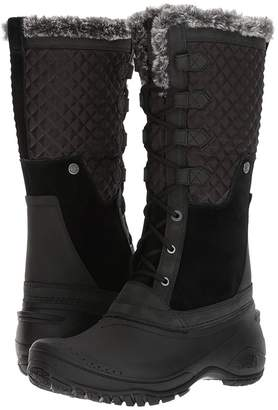 The North Face Women's Shellista III Tall Waterproof Winter Boot Black