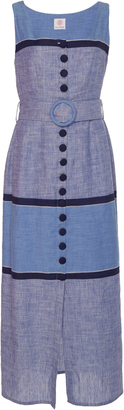 Gl Hrgel Button Down Belted Dress
