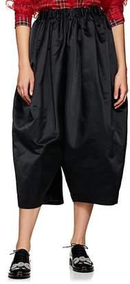 Comme des Garcons Women's Satin Voluminous Drop-Rise Pants