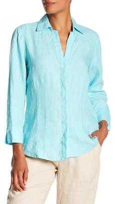 Foxcroft Taylor Linen Shirt