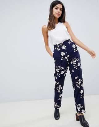 Vila floral suit pants