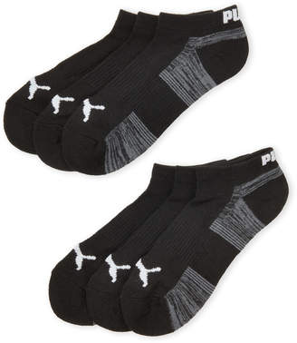 Puma 6-Pack Cushioned Low-Cut Socks