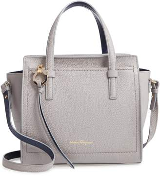 Salvatore Ferragamo Amy Piccolo Leather Tote