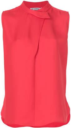 Jil Sander asymmetric shirt
