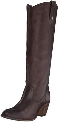 Frye Women's Jackie Button Riding Boot, Black