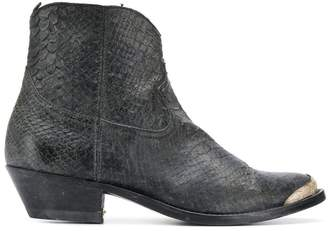 Golden Goose Viper Scales Young Boots