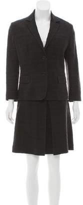 Dolce & Gabbana Jacquard Knee-Length Skirt Suit
