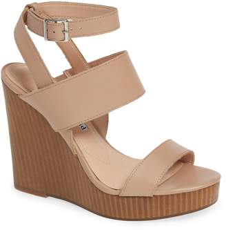 Charles David Turk 2 Platform Wedge Sandal