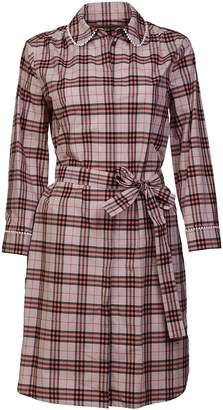 Burberry Agna Check Dress