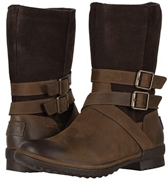 f345d524e44 UGG Brown Strap Buckle Women's Boots - ShopStyle