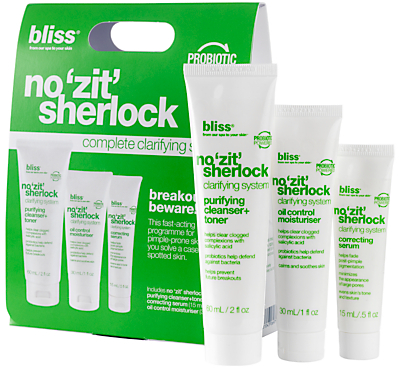 Bliss No Zit Sherlock Complete Clarifying System