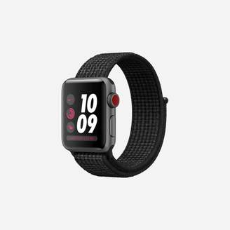 Nike Apple Watch Series 3 (GPS + Cellular) 38mm Running Watch