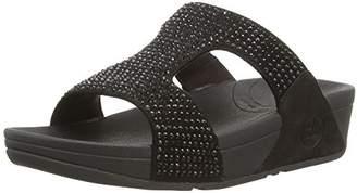 FitFlop Women's Rokkit Crystal Slide Sandal $64.09 thestylecure.com