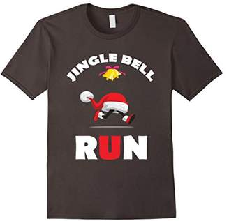 Jingle Bell Run Christmas Running Shirt With Hat