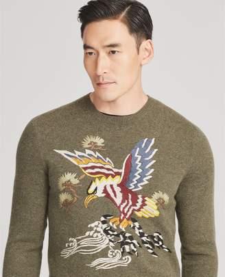 Ralph Lauren Cashmere-Silk Souvenir Sweater