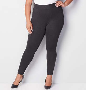 Avenue Wide Waist Ponte Legging