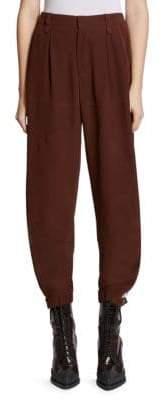 Chloé Silk Jodphur Jogging Pants