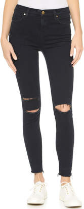 J Brand High Rise Alana Crop Jeans $218 thestylecure.com