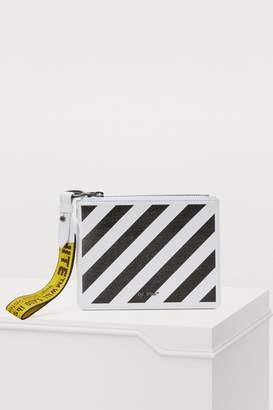 Off-White Off White Logo clutch
