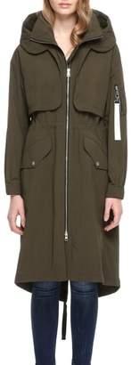 Soia & Kyo Windbreaker Maxi Coat