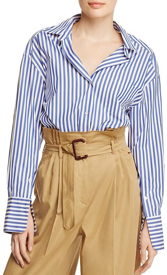 Max MaraWeekend Max Mara Aldo Striped Shirt - 100% Bloomingdale's Exclusive