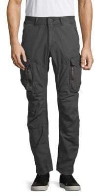 Jet Lag Urban 3D-Cut Cotton Cargo Pants