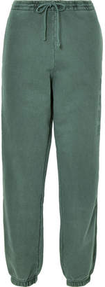 Kith - Terryka Embroidered Cotton-jersey Track Pants - Green