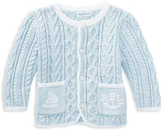 Ralph Lauren Boys' Nautical Cable-Knit Sweater - Baby